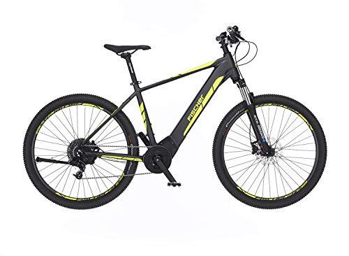 FISCHER 0i-27,5 Montis 5.0i-Bicicleta eléctrica Pulgadas, 48 cm, Motor Central Brose 50 NM, batería de 36 V, Unisex Adulto, Gris Opaco, 27,5'-RH 48