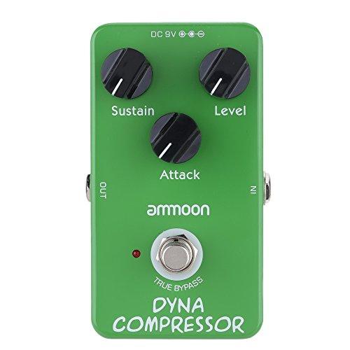 ammoon® AP-05 Dynamic Compressor Guitar Effect Pedal True Bypass