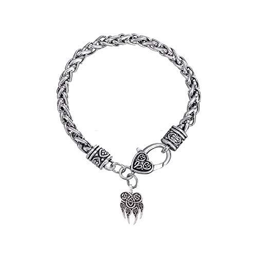 LH&BD Encantos del Anzuelo Gothnic Amparo de la Pata de Oso Veles Talisman Amuleto de Viking eslavos Cadena Nudo Afortunado Trigo brazaletes de Las Pulseras