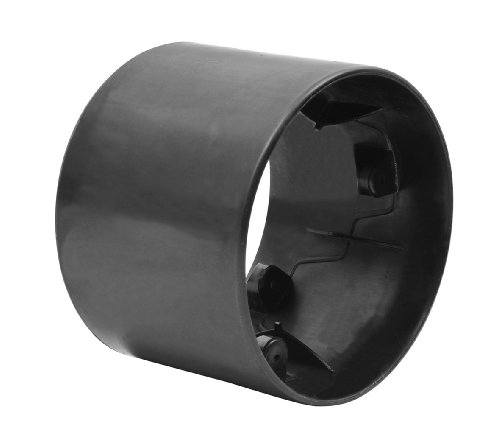 Bike Rassine Polypropylene Replacement Slick Rear Wheel for Drift Trikes, Black