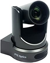 PTZOptics 12X-SDI 2.12MP 1080p Full HD Video Conferencing PTZ Camera, 12x Optical Zoom, 30fps, RJ-45 H.264, 72.5 Degree FO...