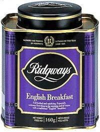 Ridgeway リッジウェイ リーフ・ティー イングリッシュ ブレックファスト 160g 紅茶