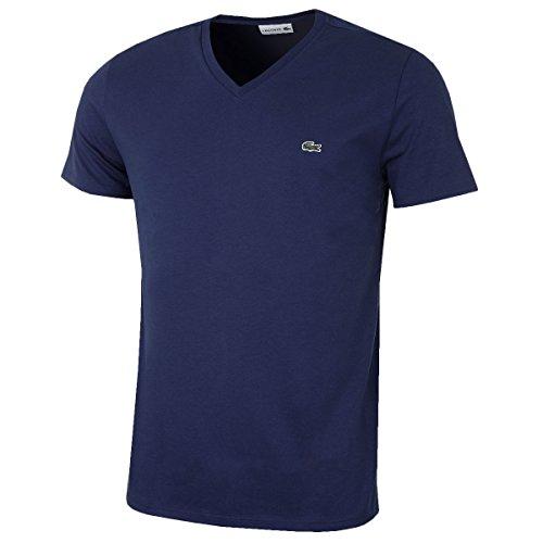 Lacoste Herren TH6710 T-Shirt, Marine, L