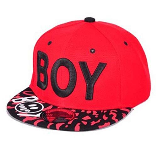 Casquettes de baseball / enfants de garçon garçons casquette de baseball enfants broderie réglable 3D lettre casquettes pour coton coton Streetwear hip hop chapeau Casquette de Baseball de Sport en Pl