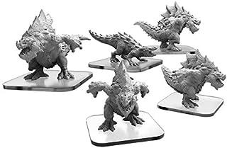 Monsterpocalypse: Terrasaur Carnidon and Spikodon Units