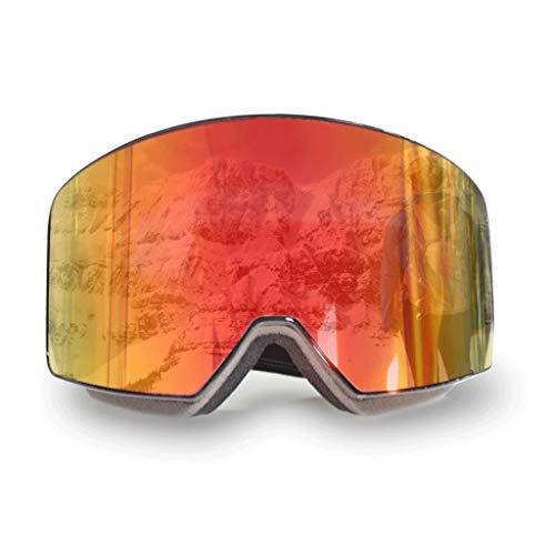 RWX Gafas De Esquí De Diadema Ajustable, Gafas De Montañismo De Doble Anti-Niebla, para Hombres Y Mujeres Deportes Al Aire Libre Gafas De Esquí (Color : M-2)