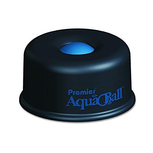 Martin Yale Hydratant multi-usage AQ701G Premier AquaBall - Noir/bleu - Élimine le besoin d'éponges, de doigts en caoutchouc ou de fuites inhygiéniques des doigts.