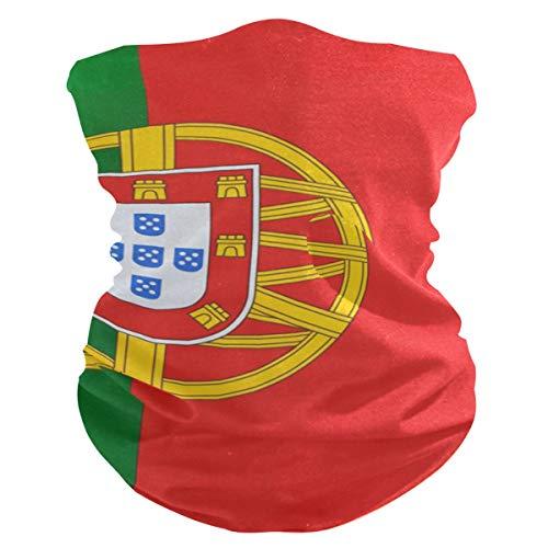 Vipsa Portugal Flag Seamless Bandanas für Staub Outdoor Festival Sport Multifunktion Kopfbedeckung