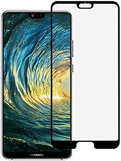 واقي شاشة من الزجاج المقسى ثلاثي الابعاد لهواتف هواوي بي 20 برو - اسود