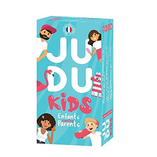 JUDUKIDS - Parents vs Enfants - Jeu de société - Famille - 480 Cartes fabriquées en France