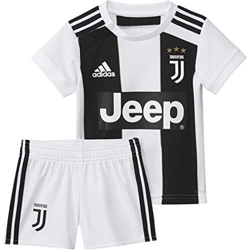 adidas Baby Juve Home Mini-heimausrüstung, Black/White, 80