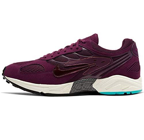 Nike Mens Air Ghost Racer Suede Performance Running Shoes Purple 9 Medium (D)