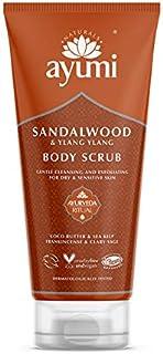 Ayumi Sandalwood & Ylang Ylang Body Scrub. Vegan, Cr