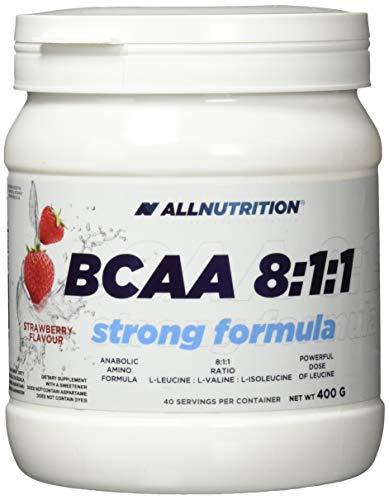 Allnutrition BCAA 8:1:1 Strong Formula, Strawberry, 400g
