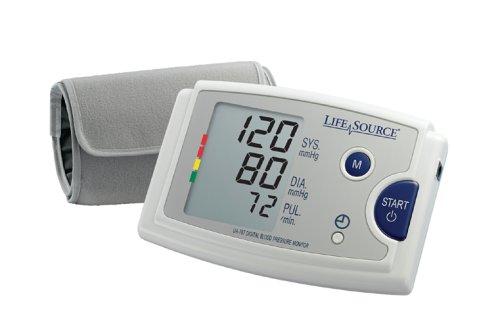 LifeSource Upper Arm Blood Pressure Monitor