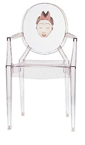 Kartell LOUIS GHOST Chaise lot de 2, transparent