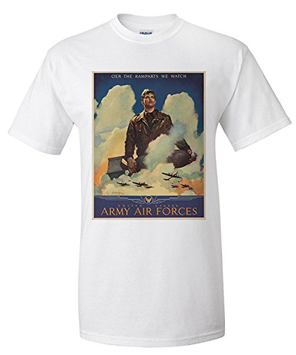 O'er the Ramparts We Watch - Army Air Forces Vintage Poster (artist:...
