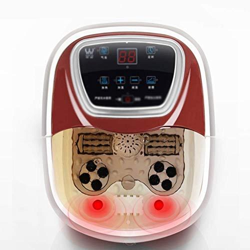 Barir Automatische Massage fußbad elektrische heizung fußbad fuß pediküre Gesundheit befeuerung fuß Bad Barrel