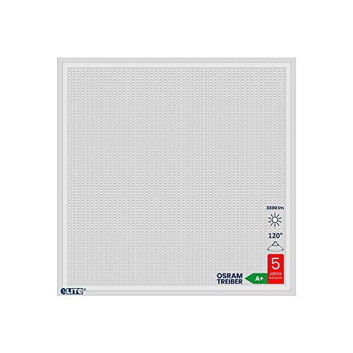 LED Panel Design Rectangula 30W 6500K 4000lm 62x62cm weiß