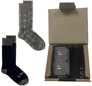 Calcetines día del padre, Pack dos pares de calcetines originales para regalar a papa, calcetín súper papá