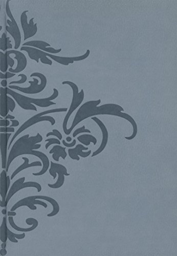 Pierre Belvedere Damask Large Notebook, Padded Cover, Moss (978350)
