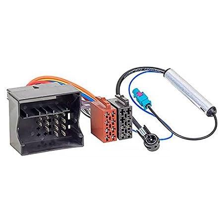 Hama Kfz Iso Adapter Mit Phantomeinspeisung Für Audi Elektronik