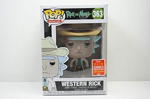 FunKo Pop Rick y Morty Western Rick Summer Convention Exclusive