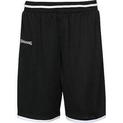Spalding Kinder Move Shorts, schwarz/Weiß, 164