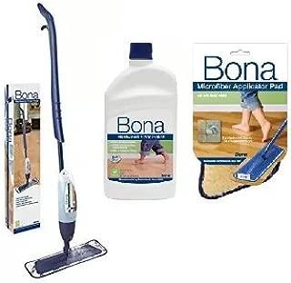 Bona Hardwood Spray Mop with Polish Applicator Kit