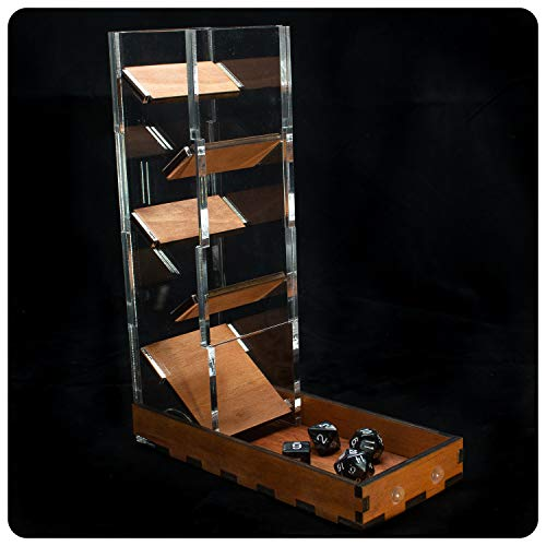 C4Labs Dice Tower & Tray for Dice Games