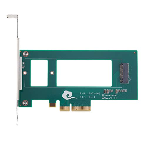 Funtin PCIe M.3 SSD Adapter for Samsung NF1 SSD, Compatible with NVMe PCIe M.2 SSD 2280
