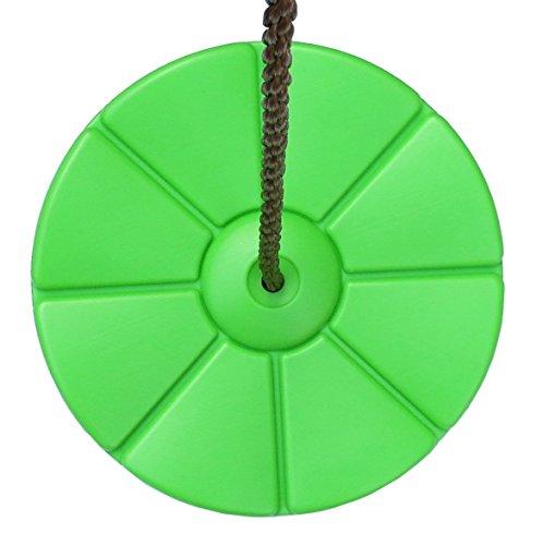 Gartenpirat Tellerschaukel Kunststoff apfelgrün