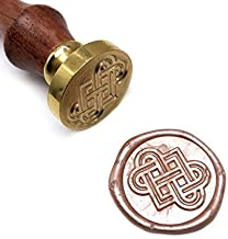 UNIQOOO Arts & Crafts Celtic Knots Wax Sealing Stamp, Great Embellishment of Cards, Envelopes, Wedding Invitations, Wine Packages, Gift Idea