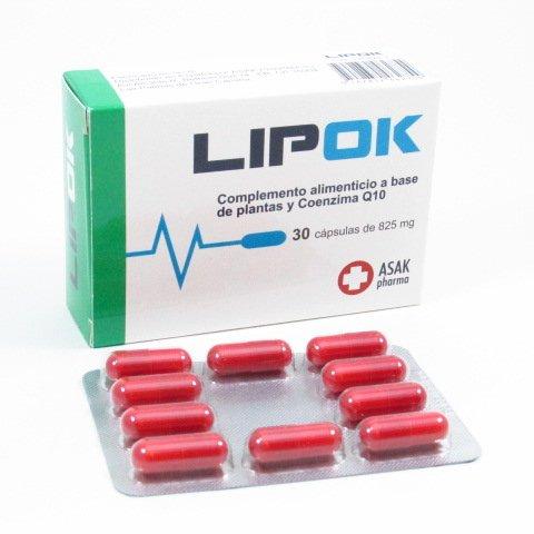 LIPOK 30 CAP COENZIMA Q10