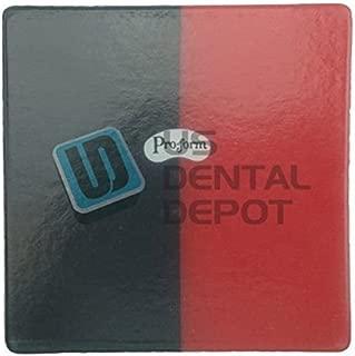 PRO-FORM - DUAL-COLOR Mouthguards Laminate Black/Red 5x5 12p 113507 Us Depot