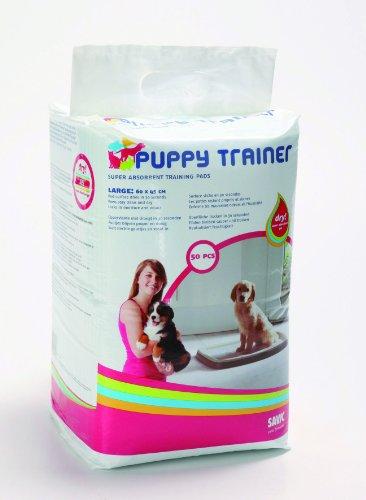 Nobby Puppy Trainer Starter Kit Pads, 50 Stück, groß, für Tiere