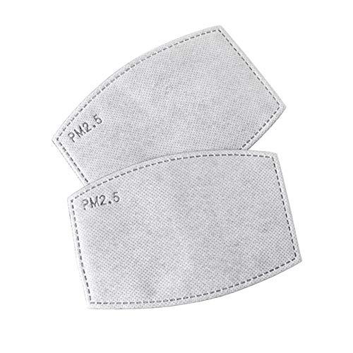 PM2.5 masker afstandslaag 5 koolstoffilter Wegwerp beademingsmasker kussenplaat Gezichtsmasker wegwerp (Size : 50 pcs)