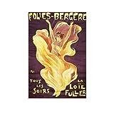 Loie Fuller, Folies-Bergere Poster Henri De Toulouse