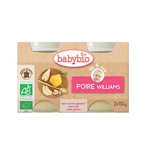 Babybio Pots Poire de Provence Dès 4 mois - 260 g