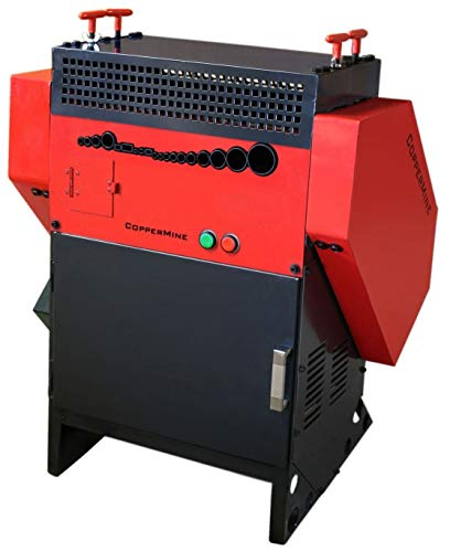 CopperMine Industrial Powered Copper Wire Stripping Machine AUTOMATIC Copper Wire Stripper