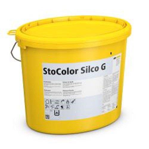 StoSilco Color G weiß 15 LTR - ECHTE Siliconharz-Fassadenfarbe, mit erhöhtem verkapseltem Filmschutz