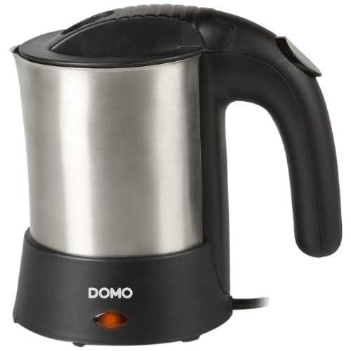 Domo DO-9024WK Bouilloire Electrique de Voyage Inox 110/230 V