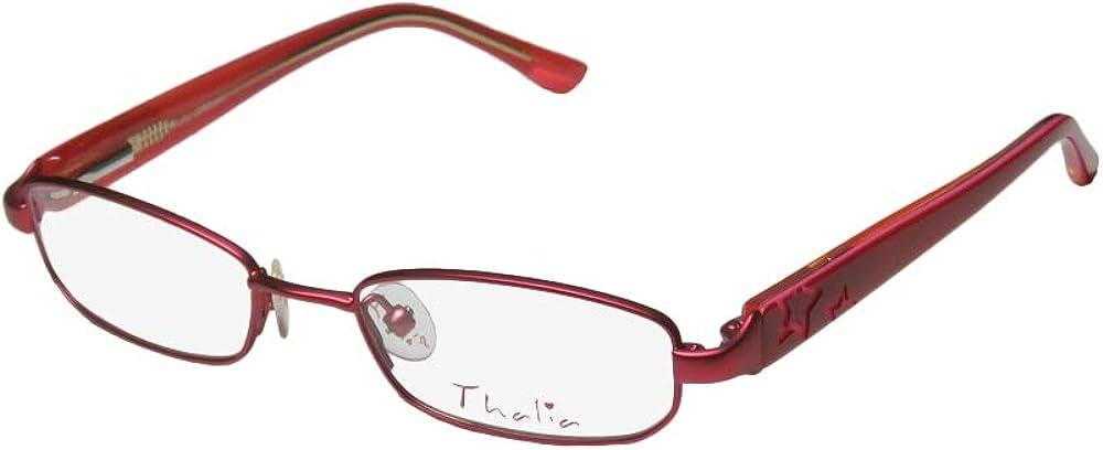 Thalia Jordana Childrens/Kids/Girls Designer Full-rim Spring Hinges Glamorous Hip For Teens Eyeglasses/Spectacles