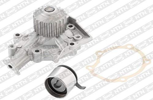 SNR Wasserpumpe + Zahnriemensatz Wapu Pumpe Zahn Riemen Antriebsriemen Antriebsstrang Kühlmittel Kühlmittelpumpe Kühlmittelkreislauf KDP453.340
