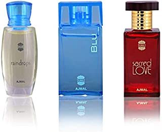 Ajmal Perfumes Special Gift Set for Him and Her, 3 Piece