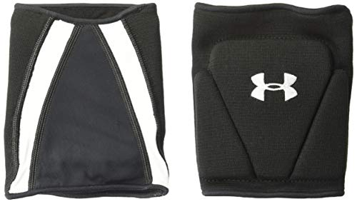 Under Armour Strive 2.0 Knee Pads, Black//White