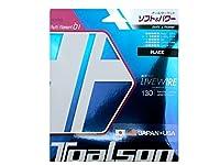 トアルソン(TOALSON) テニスガット バイオロジック ライブワイヤー 130(ブラック) 単張りガット 7223010K 0 0