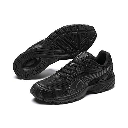 Puma Unisex-Erwachsene Axis Fitnessschuhe, Schwarz Black-Asphalt, 38 EU