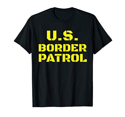 Halloween Immigration Customs Enforcement Border Patrol T-Shirt