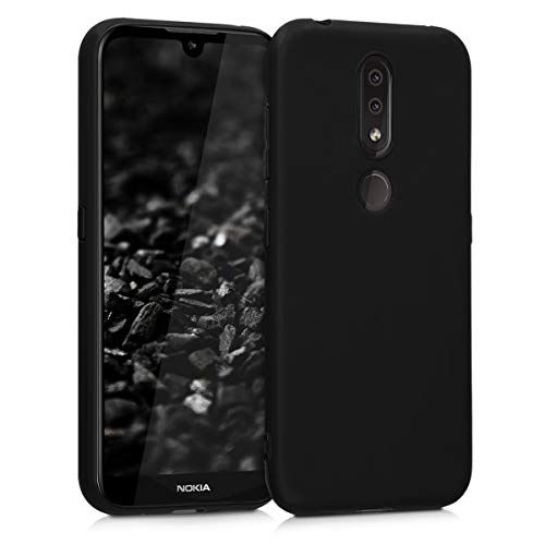 kwmobile Hülle kompatibel mit Nokia 4.2 (2019) - Handyhülle - Handy Hülle in Schwarz matt